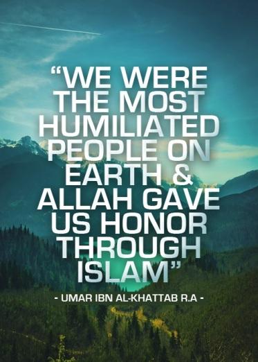 honour through Islam