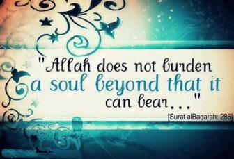 Allah is just