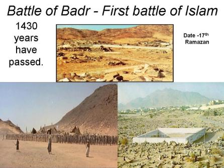 battle of badar