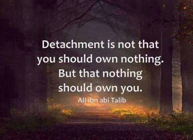 detachment from dunya