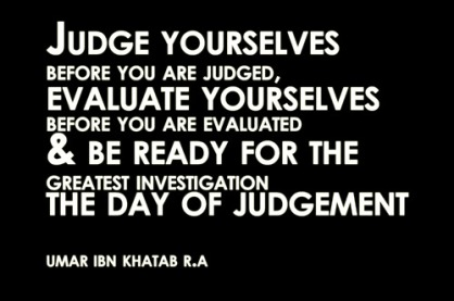 judge yoursef