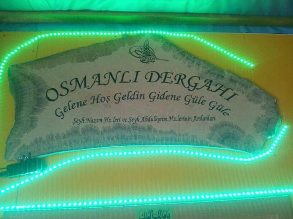 osmanli Dergahi welcome to those who come farewell