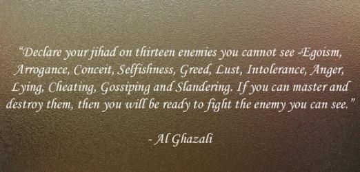 jihad against nafs and ego