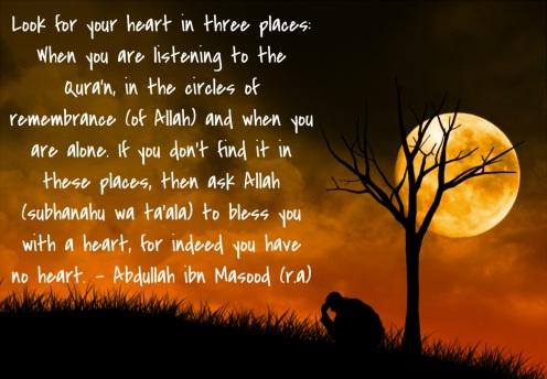 heart zikr Allah