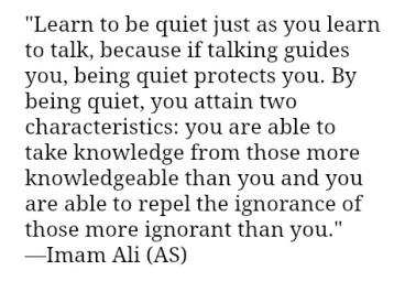 Hz Ali quotes on silent (2)