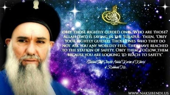 obey your rightly guided leader