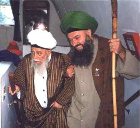 Sheykh Maulana and Sheykh Abd Kerim